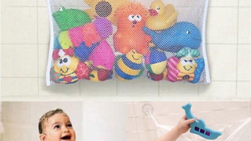 Baby Bath Toys Tub Storage Hanging Mesh Organizer