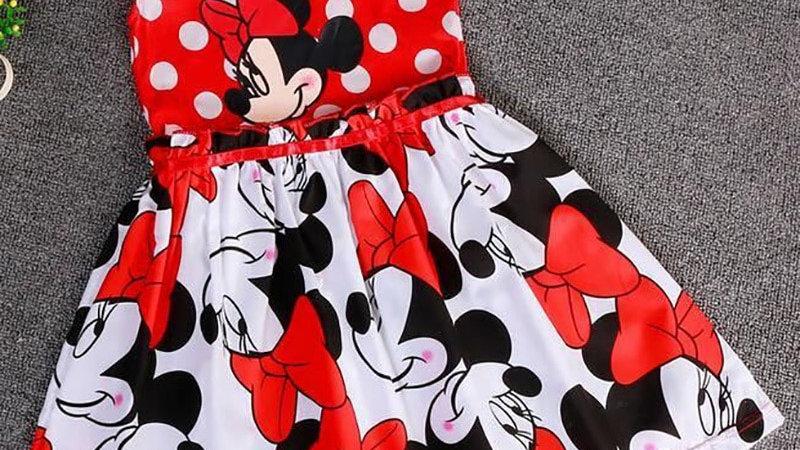 Baby Girls/Cartoon Summer Dot Dress 2-7y