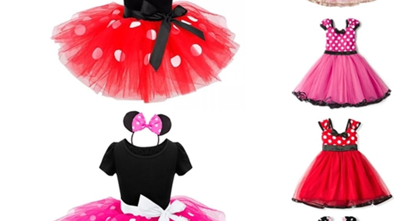 Fancy Dresses for Girls Mouse Dress Up Costume