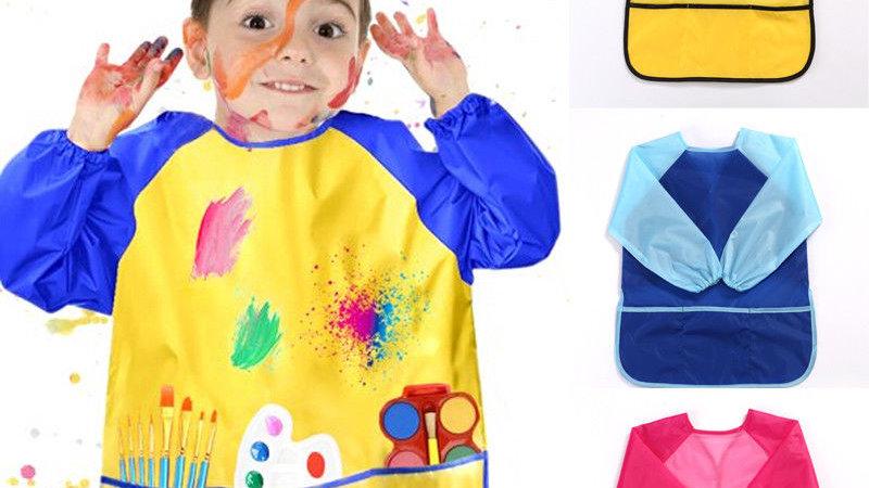 Painting Waterproof Anti Wear Children's Apron Smock