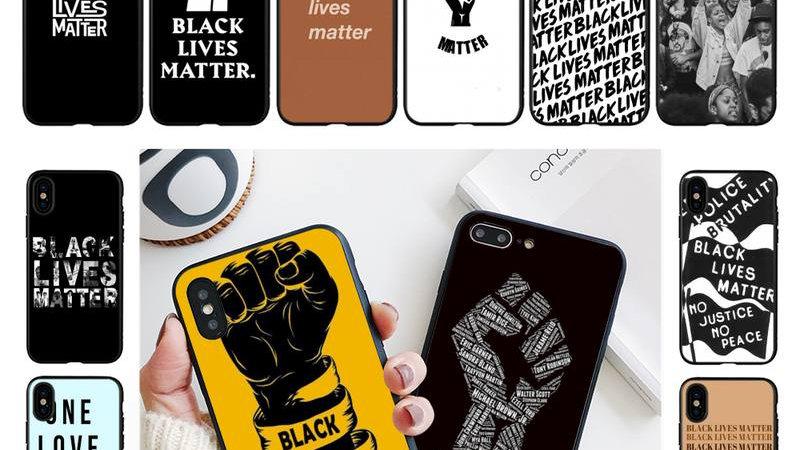 Black Lives Matter Phone Case: iPhone