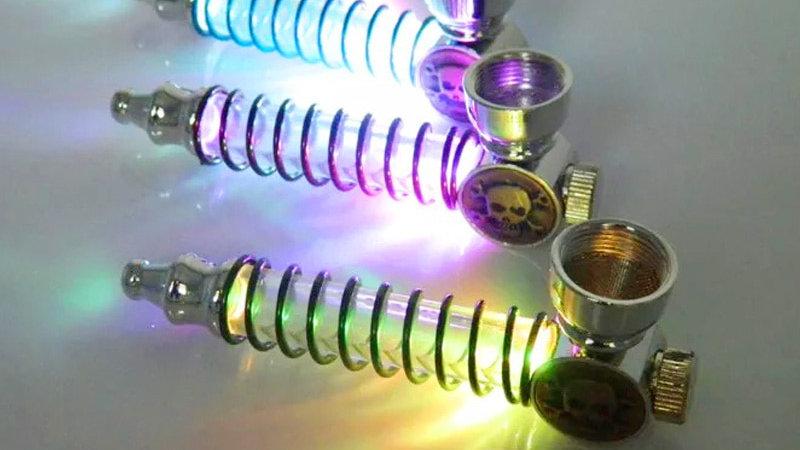 Colorful LED Flashing Bowl