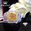 Thumbnail: Natural Diamond 18K Gold Pure Gold Ring Beautiful Gemstone Ring