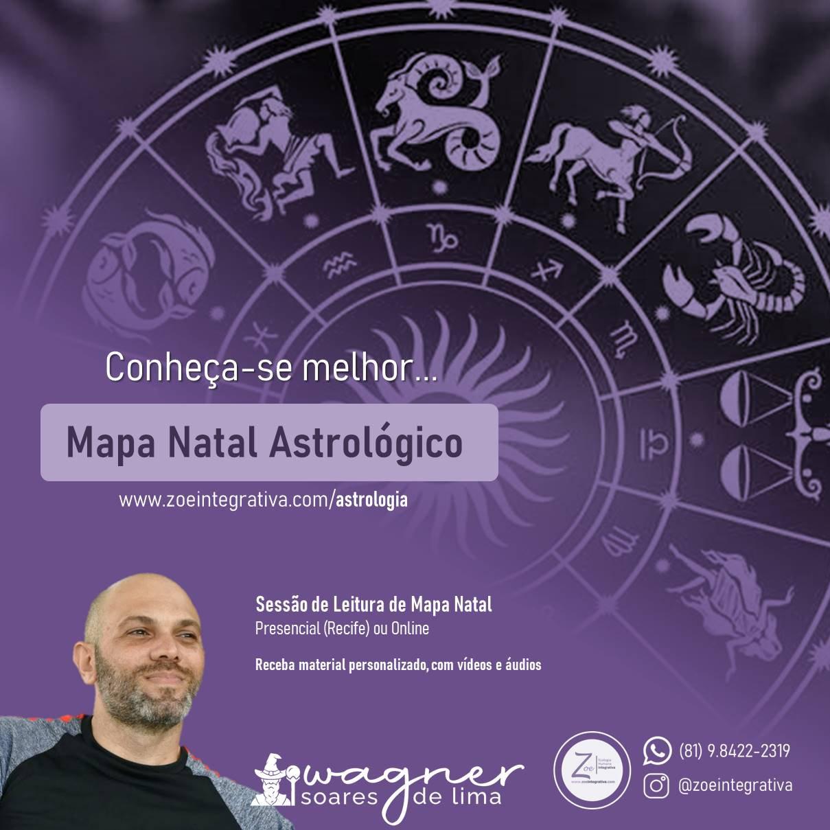Mapa Natal Astrológico