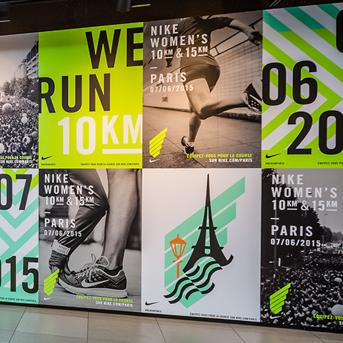 NIKE We Run Paris 2015