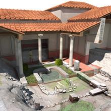 Arqueologia virtual. Reconstituição 3D da Domus de Santiago.
