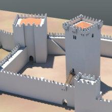 Arqueologia virtual. Reconstituição 3D do castelo de Braga.