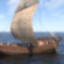 Arqueologia virtual. Reconstituição 3D de um navio romano.