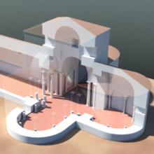 Arqueologia virtual. Basílica sueva de São Martinho de Dume.