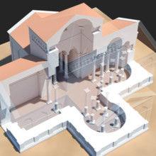 Arqueologia virtual. Reconstituição 3D de São Frutuoso