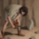Ilustração de cena históricas