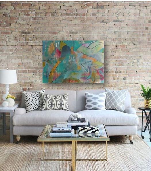 quadros para parede, obras de arte, pintura intuitiva, quadro para decoracao, acrilico sobre tela, quadro de passarinho, quadro azul