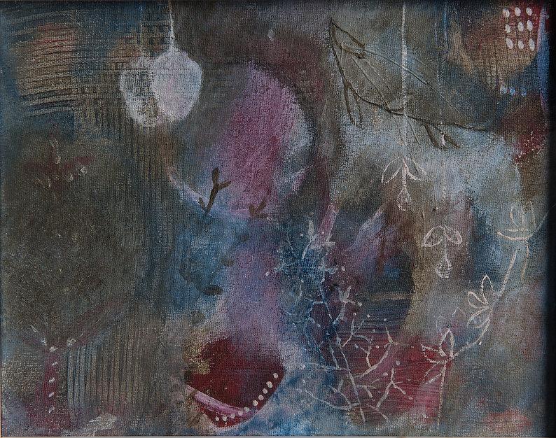 quadro fendi, quadro pequeno, quadro para parede, obra de arte, pintura intuitiva, quadro azul marinho, quadro para decoracao, acrilico sobre tela, quadro abstrato