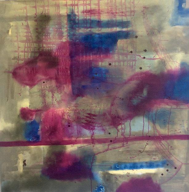 tela abstrata, tela fendi, quadro fendi, quadro azul, quado vinho, quadro para parede, obra de arte, pintura intuitiva, decoracao, acrilico sobre tela