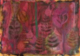 quadros para parede, obras de arte, pintura intuitiva, decoracao, acrilico sobre papel, quadro colorido, pintura abstrata, quadro colorido, quadro rosa, quadro vinho, quadro vermelho