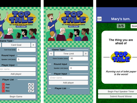 Creating an App for a Card Game