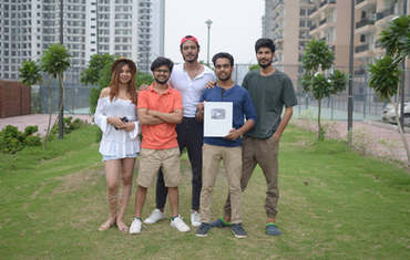 Team DK FILMS with YouTube award.
