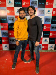 Producer Naveen SIngh with Sunny Anand at Suitboy Launch Event