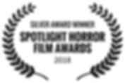 SILVERAWARDWINNER-SPOTLIGHTHORRORFILMAWA