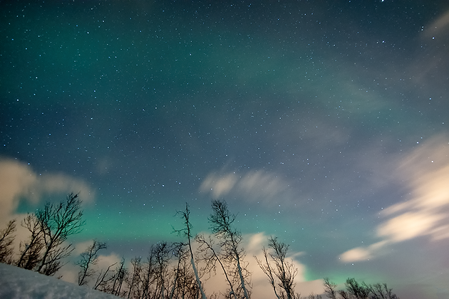 Aurora 'n Clouds 3