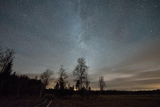 Upplands starry sky