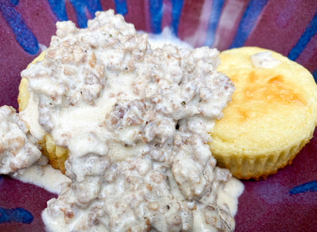 Southern Keto Biscuits and Gravy