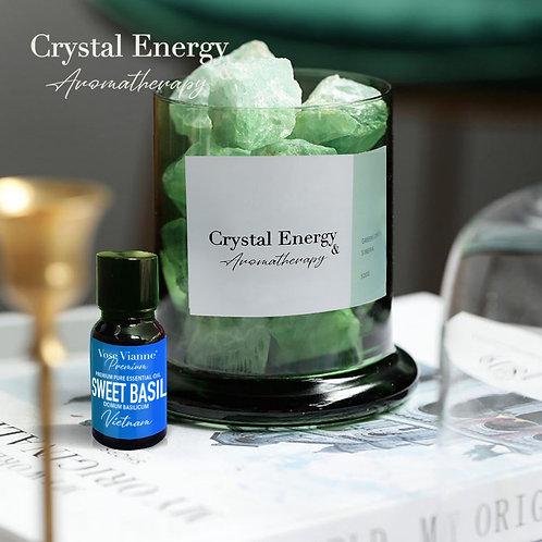 Siberian Green Crystal & Sweet Basil (Vietnam)
