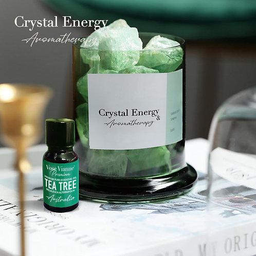 Siberian Green Crystal & Tea Tree (Australia)