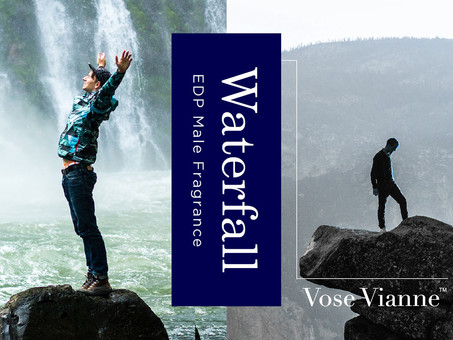 2020 Male Fragrance Series #3:【Waterfall】That creates a captivating magical symphony
