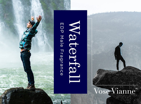 Male Fragrance Series #3:【Waterfall】That creates a captivating magical symphony