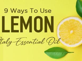 9 Ways to Use Vose Vianne Lemon Essential Oil