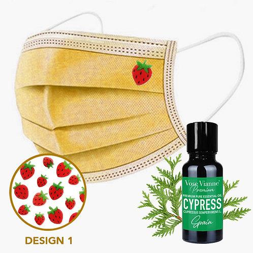 Mask Sticker Set 1 + Cypress (Spain)