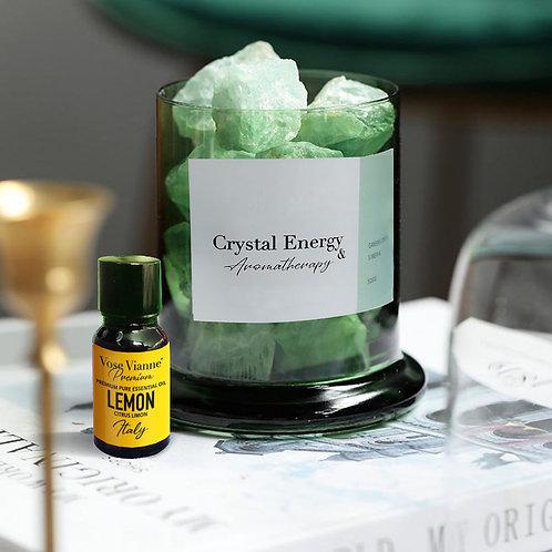 Siberian Green Crystal & Lemon (Italy)