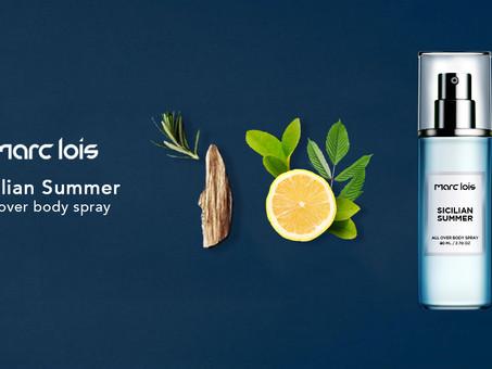 Sicilian Summer 西西里的夏天, 清新的柠檬香水捕捉了意大利夏季的高雅花香