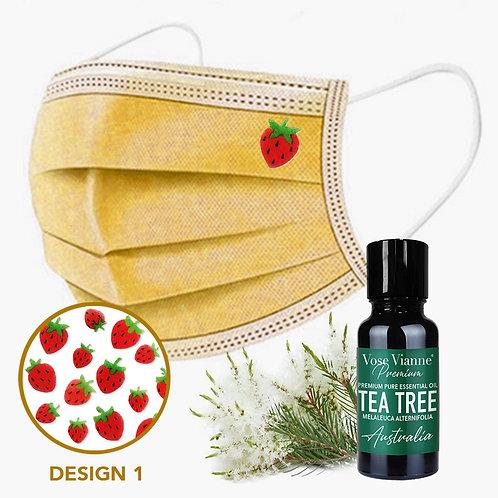 Mask Sticker Set 1 + Tea Tree (Australia)