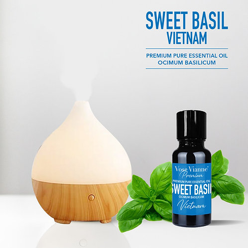 Pyrus Mist Diffuser Set - Sweet Basil (Vietnam)