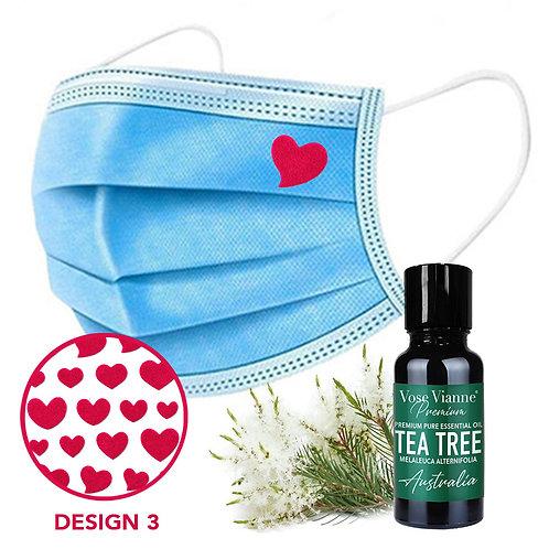 Mask Sticker Set 3 + Tea Tree (Australia)