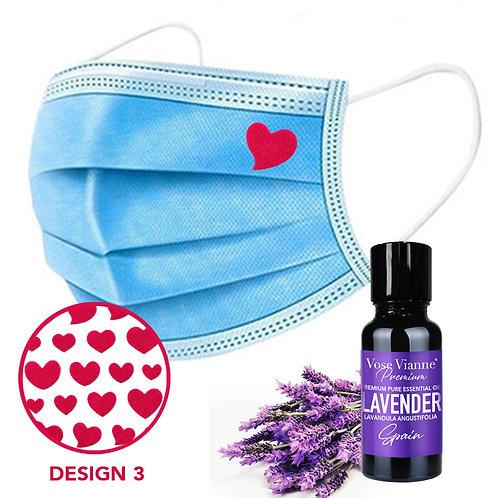 Mask Sticker Set 3 + Lavender (Spain)