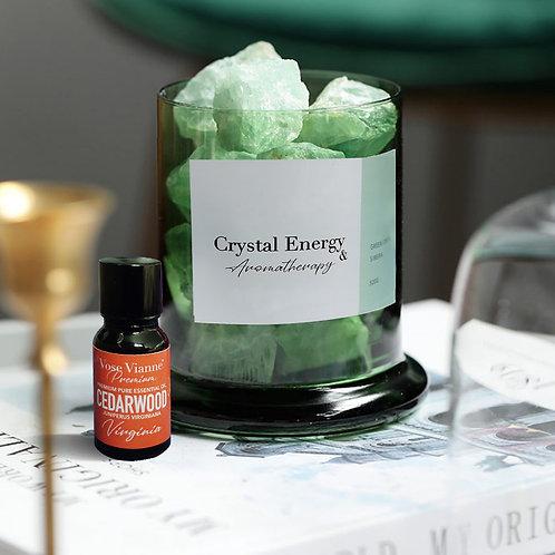 Siberian Green Crystal & Cedarwood (Virginia)