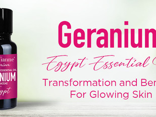 Vose Vianne Geranium, Oil of Transformation and Benefits for Glowing Skin