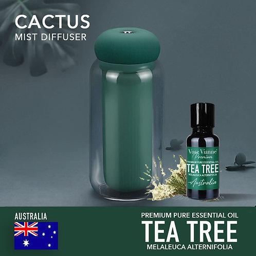 Cactus Diffuser Set - Tea Tree (Australia)