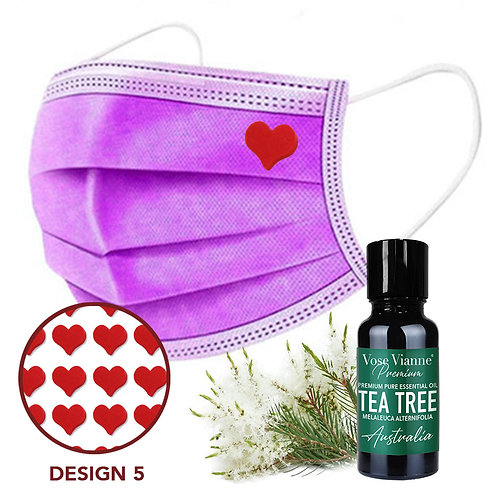 Mask Sticker Set 5 + Tea Tree (Australia)