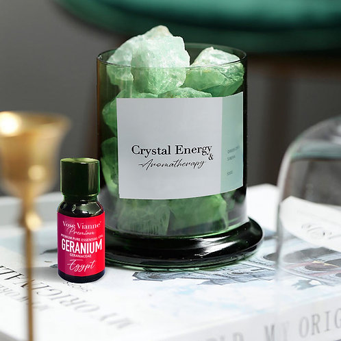 Siberian Green Crystal & Geranium (Egypt)