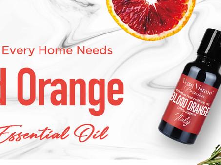 13 Reasons Every Home Needs Vose Vianne Blood Orange Essential Oil