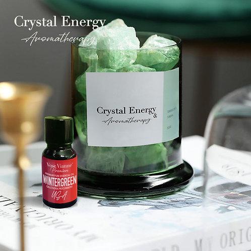Siberian Green Crystal & Wintergreen (USA)