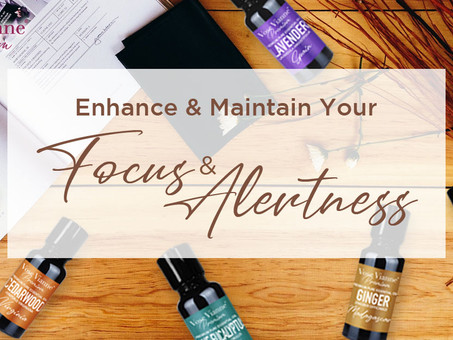 11 Vose Vianne Premium Essential Oils That Enhance & Maintain Your Focus & Alertness