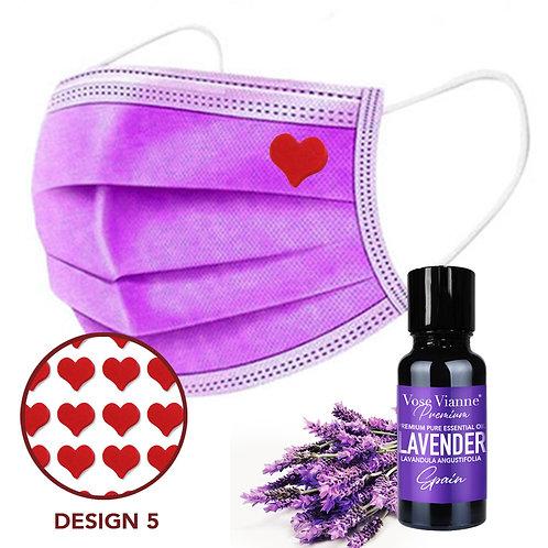 Mask Sticker Set 5 + Lavender (Spain)