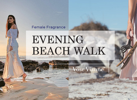 Female Fragrance#4:【EveningBeachWalk】The lavish fragrance heaven that is so alluring & irresistible