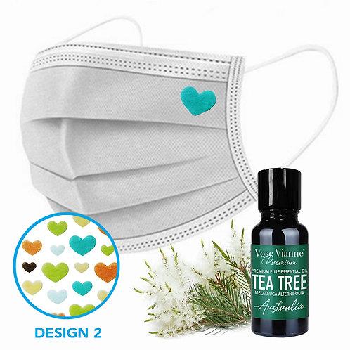 Mask Sticker Set 2 + Tea Tree (Australia)