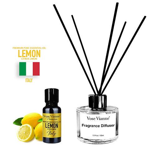 Fragrance Diffuser Set - Lemon (Italy)